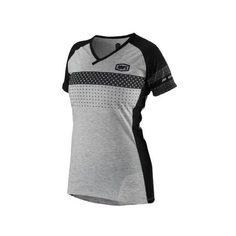 100% Airmatic Women's Jersey Black